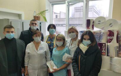 Відвідання  відділення глибоко недоношених немовлят лікарні «Охматдит» та благодійна допомога від особового складу Факультету податкової міліції