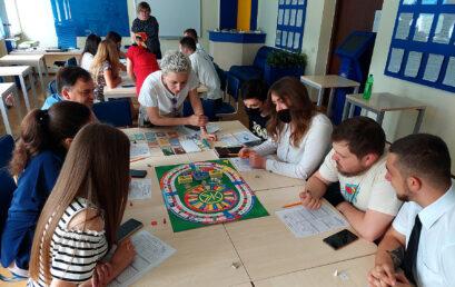 В Університеті ДФС України в рамках Літньої школи «ФінТех» провели  гру-тренінг «Життєвий капітал»