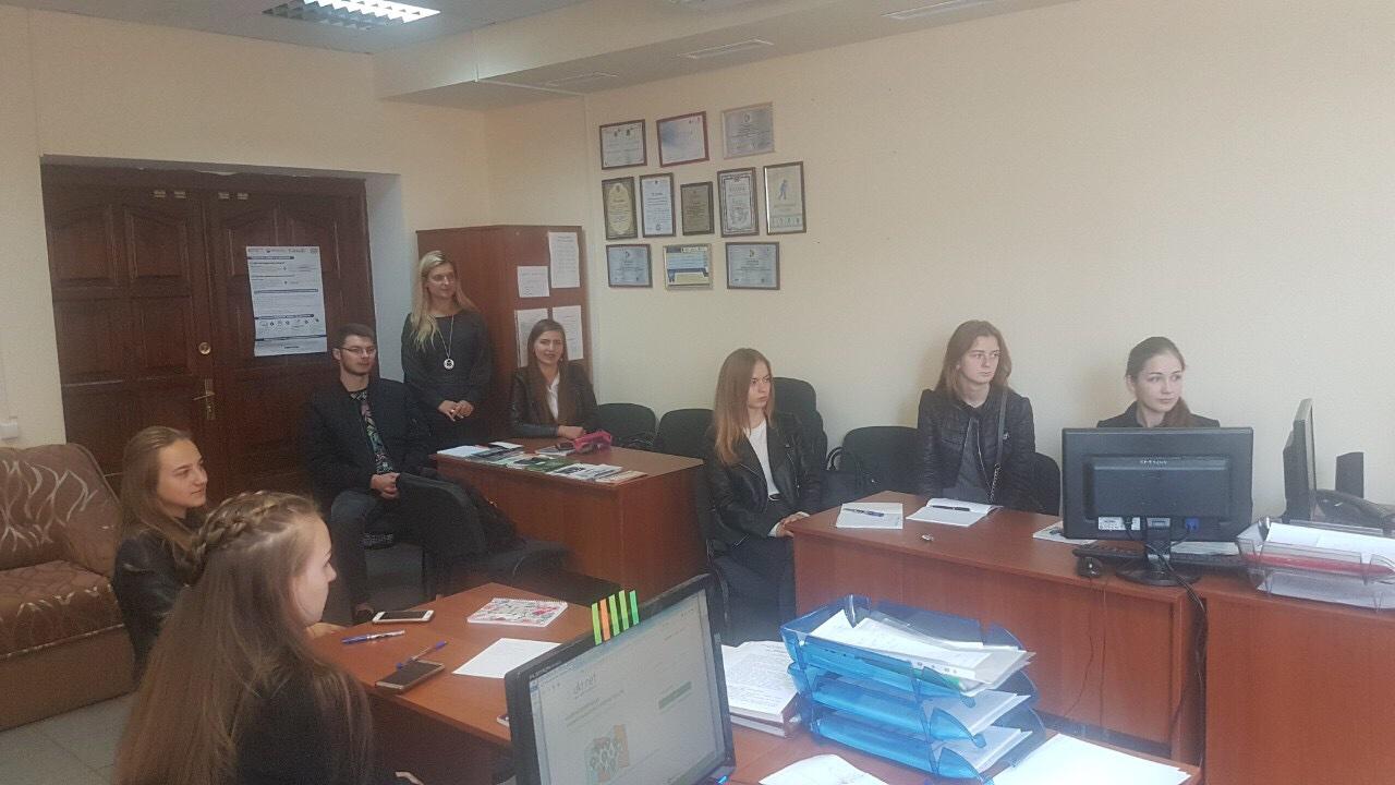 Викладачами навчально-практичної лабораторії «Юридична клініка» уло проведено тренінг для студентів 2 та 3 курсів на тему «Етичні принципи в діяльності адвоката».