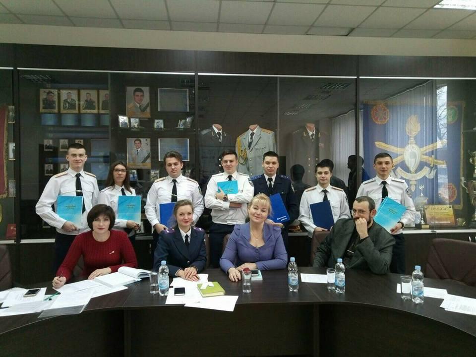 Захист випускної (кваліфікаційної) роботи курсантів взводу ПММА-16-1