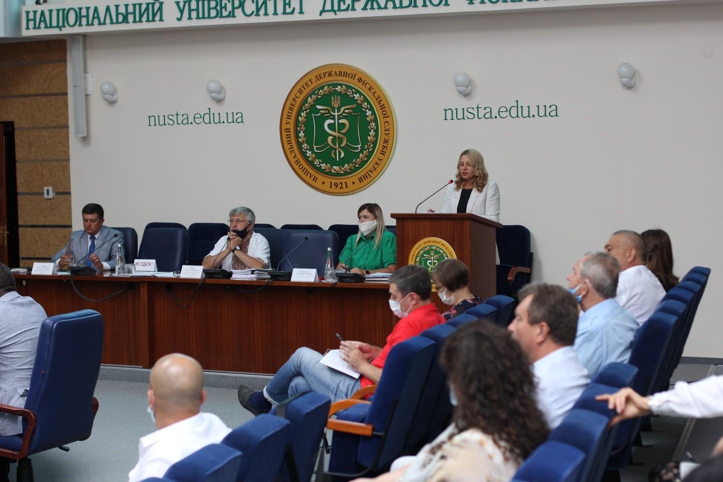 Перше засідання Вченої ради Університету у новому навчальному році: підведено підсумки, визначено виклики, окреслено завдання