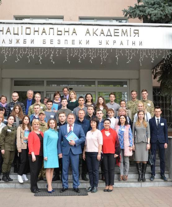 На базі Національної академії Служби безпеки України було проведено VІ Міжвузівську олімпіаду з іноземних мов