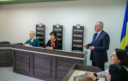 Відбулось урочисте відкриття учбової зали судових засідань