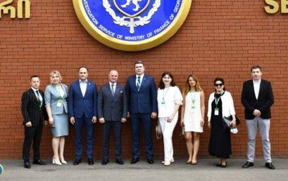 Університет ДФС України налагоджує співпрацю зі Слідчою службою Міністерства фінансів Грузії