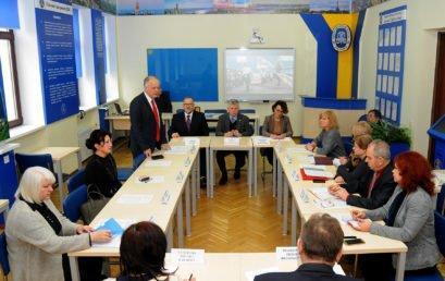 До НУДФСУ завітав віце-президент польської спілки «Університетів третього віку»