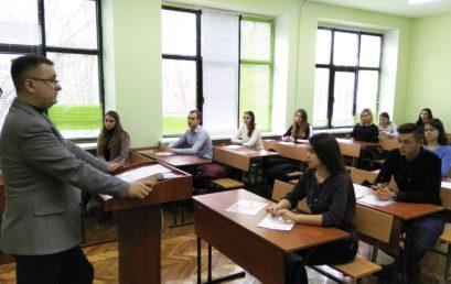 Відбувся І етап Всеукраїнської студентської олімпіади з навчальної дисципліни «Страхова справа»