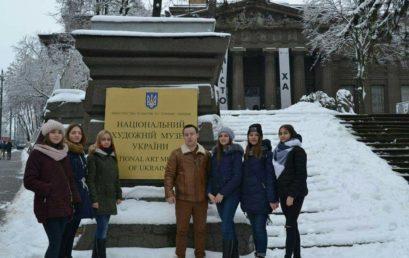 Особовий склад першого курсу разом з начальником курсу Грищуком В.Л. відвідали Національний художній музей України