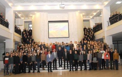 В університеті відзначили День гідності та свободи