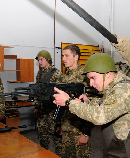 Відбулася декада кафедри військової підготовки