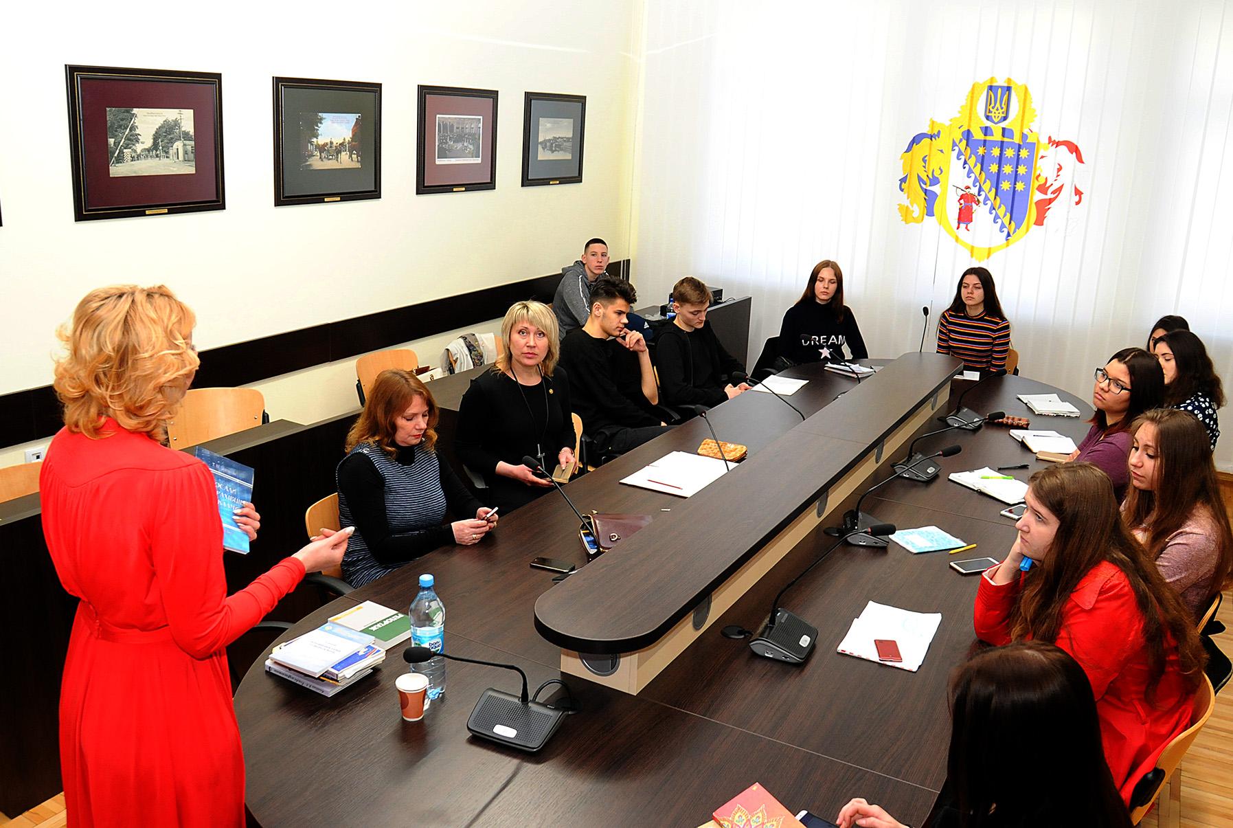 Відбувся майстер-клас «Сучасні виклики журналістики»