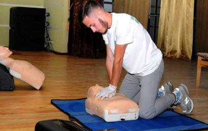В Університеті провели навчання з першої домедичної допомоги на тему «Серцево-легенева реанімація»