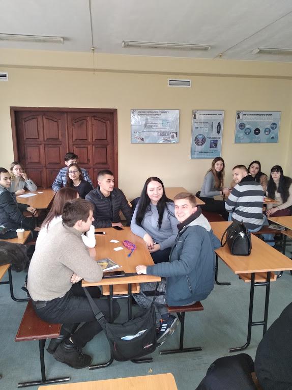 ННІ права Університету ДФС України разом з науковим товариством кафедри було проведено інтелектуальну гру з міжнародного права