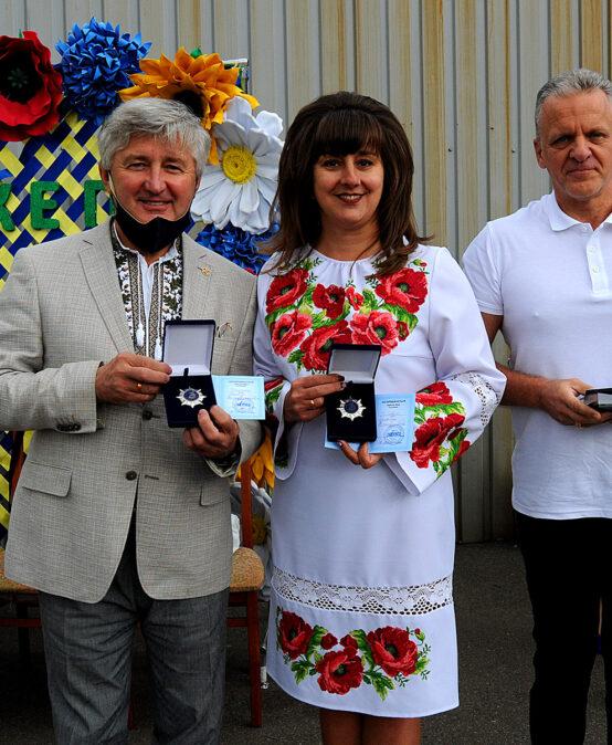 Ректор Павло Пашко отримав нагороду від Міжнародної дипломатичної місії ОБСЄ