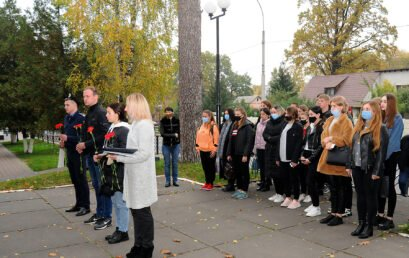 В Університеті відзначили 76-ту річницю з Дня визволення України від фашистських загарбників