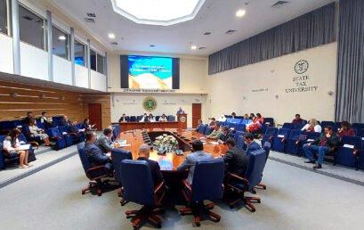 Відбулося засідання ректорату Університету державної фіскальної служби України