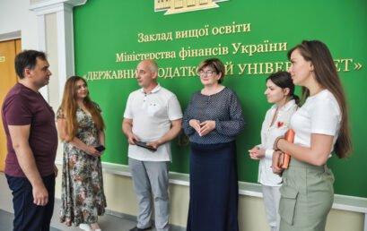 Відбулася зустріч представників Університету ДФС України зі стейкхолдером програми ФінТех, інвестиційним експертом Сергієм Івагло