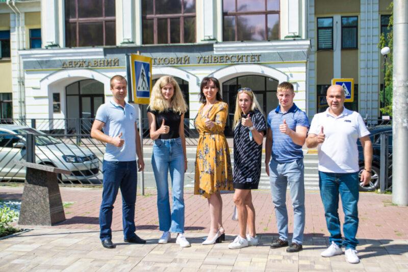 Чемпіони обирають Університет ДФС України!
