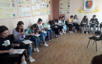 Відбувся майстер-клас на тему: «Використання проективного тесту «Гомункулус» у роботі практичного психолога»
