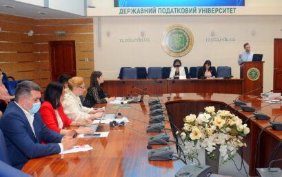 15 вересня 2021 року відбулося засідання ректорату Університету