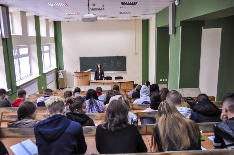 Сьогодні психологи Податкового університету провели індивідуально-психологічне тестування першокурсників