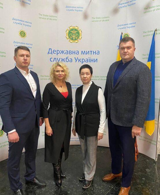 Відбулася робоча зустріч з представниками Державної митної служби України