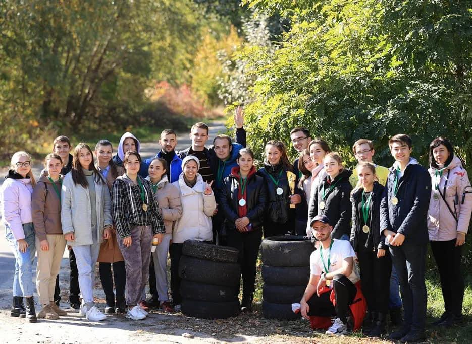 Студенти Податкового університету долучилися до екологічного турніру «Eco Show»