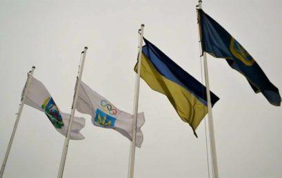 Участь в урочистій церемонії підняття державного прапора України та стяга Національного Олімпійського комітету на честь відкриття зимової Олімпіади 2018 року