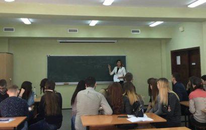 Зустріч студентів з адвокатом О. Курдалевською