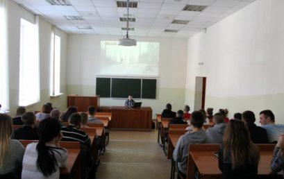 Перегляд фільму «Гвардія»  курсантами 3-го курсу факультету податкової міліції