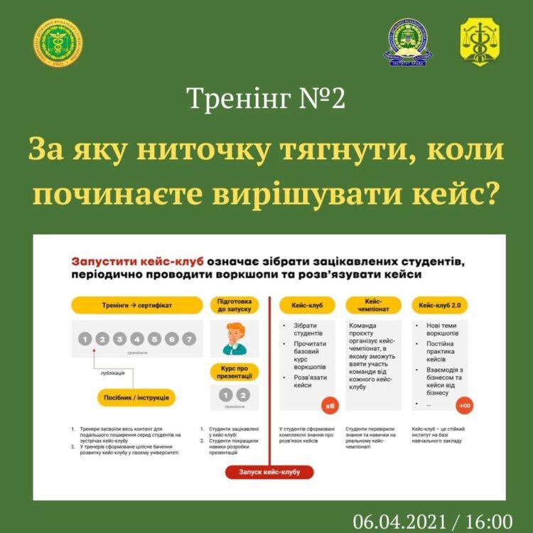 УДФСУ взяв участь у II онлайн-тренінгу зі створення кейс-клубів