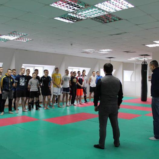 Факультет податкової міліції Університету ДФС України провів практичний семінар з кікбоксингу