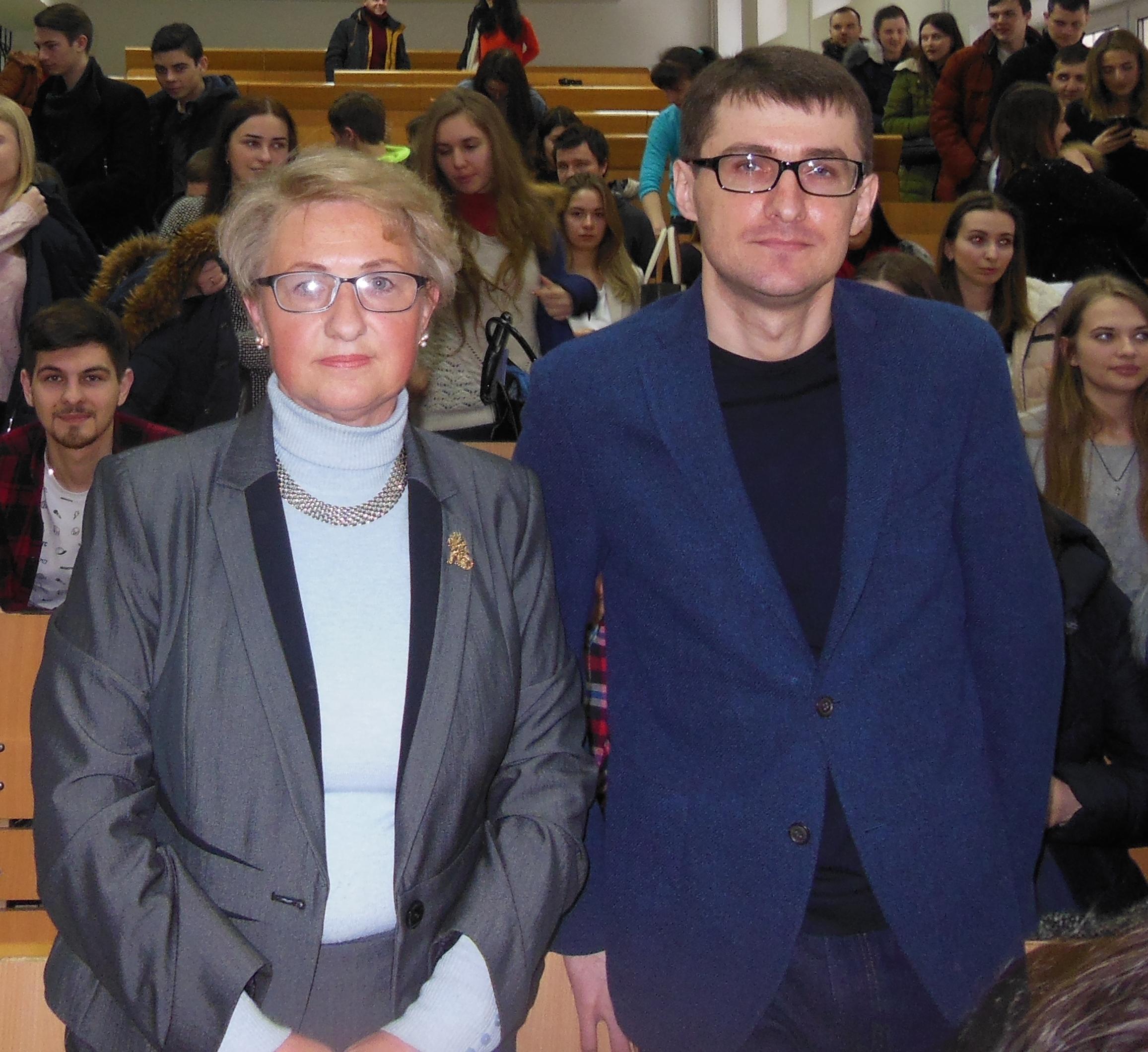 Зустріч з випускником 2004 року університету – кандидатом юридичних наук Петром Зарубою