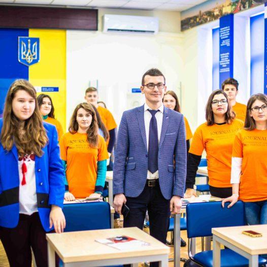 До НУДФСУ завітав голова Національної спілки журналістів України Сергій Томіленко