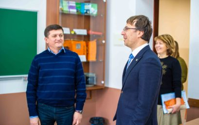 В університеті відкрили аудиторію «Адміністрації морських портів України»