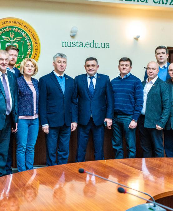 До університету завітав голова Київської ОДА Олександр Терещук