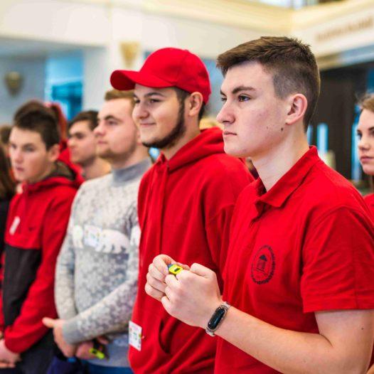 В університеті відбулися перші змагання зі спортивного орієнтування у закритих приміщеннях