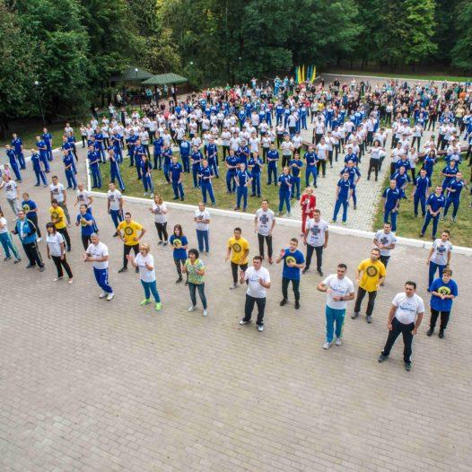 Олімпійська зарядка в Національному університеті державної фіскальної служби України