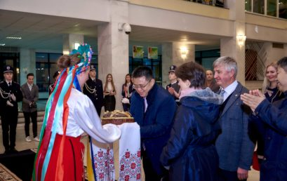 В університеті гостинно прийняли делегацію Державної податкової адміністрації Китаю