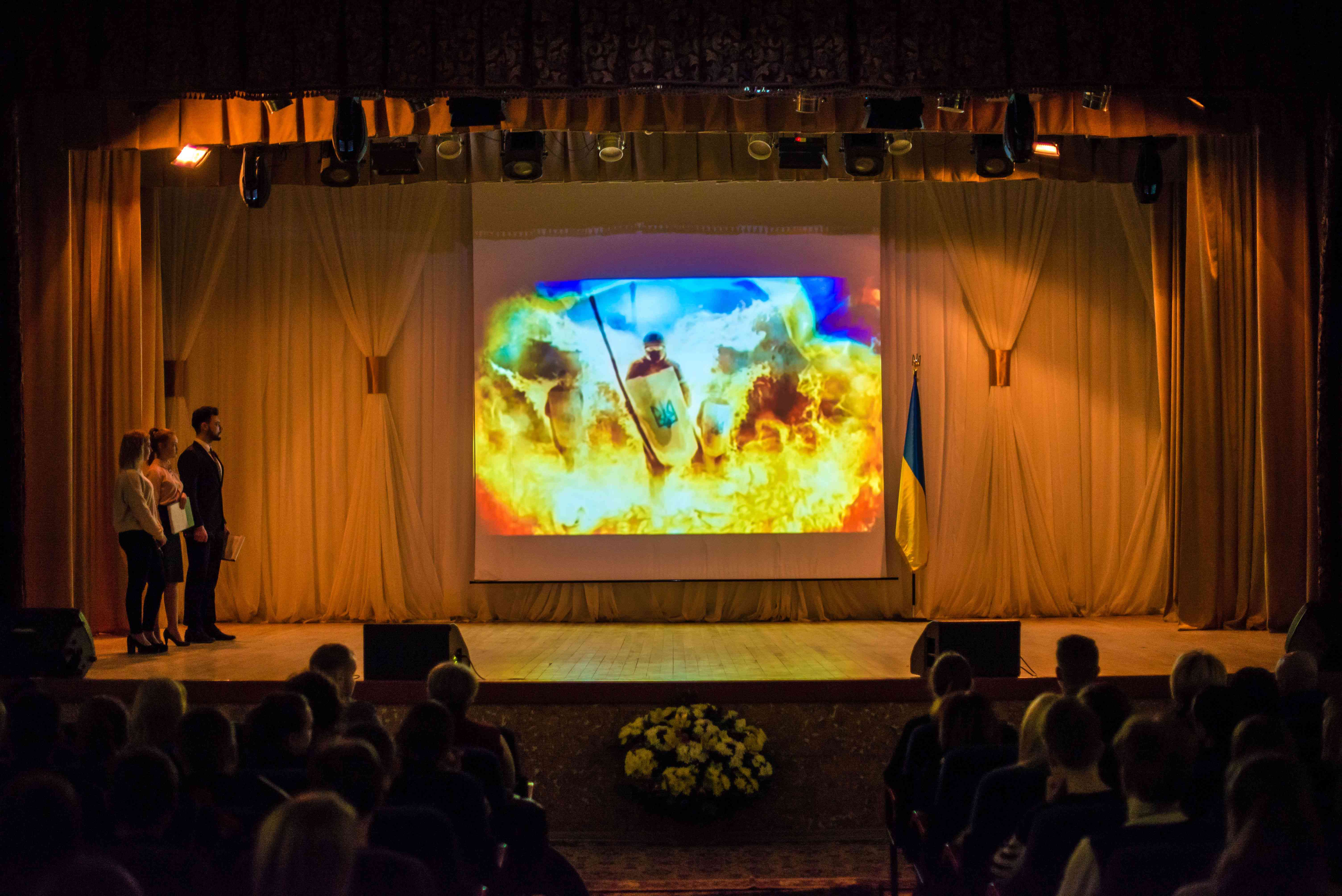 В університеті відзначили 5-ту річницю Революції Гідності та вшанували пам'ять загиблого студента Дмитра Максимова