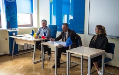 Візит спів-президента Федерації «Обміни Франція-Україна» Жака Форжерона