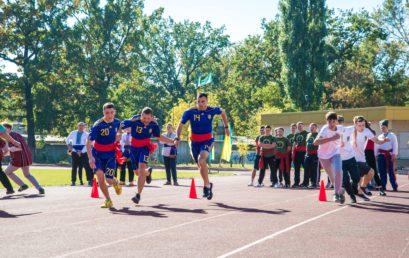 До Дня захисника України у НУДФСУ відбулися «Козацькі розваги»