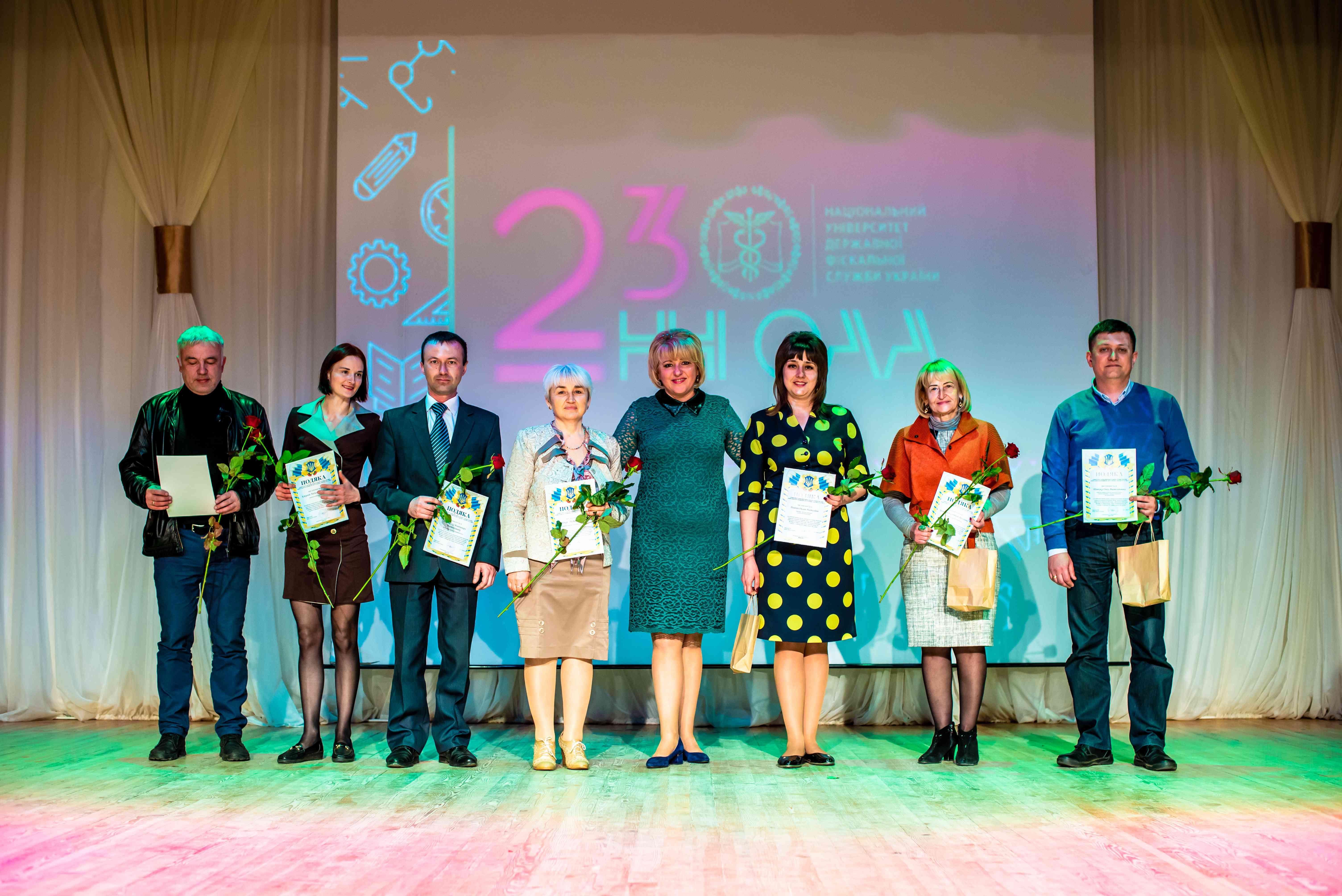 Навчально-науковий інститут обліку, аналізу та аудиту відсвяткував 23-ю річницю з дня створення