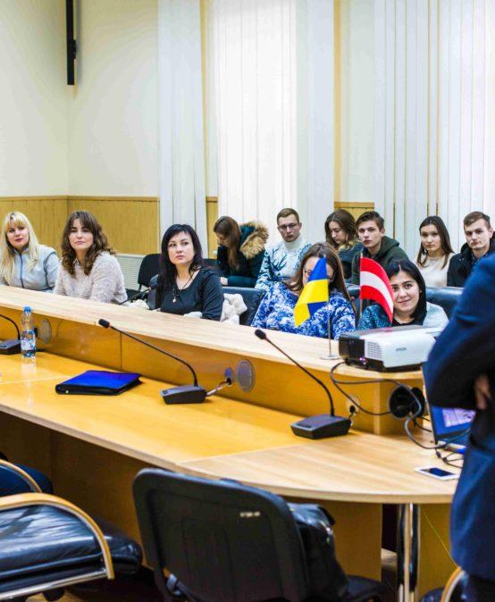 Міжнародний податковий консультант з Відня розповів студентам про останні тенденції та розвиток міжнародного оподаткування