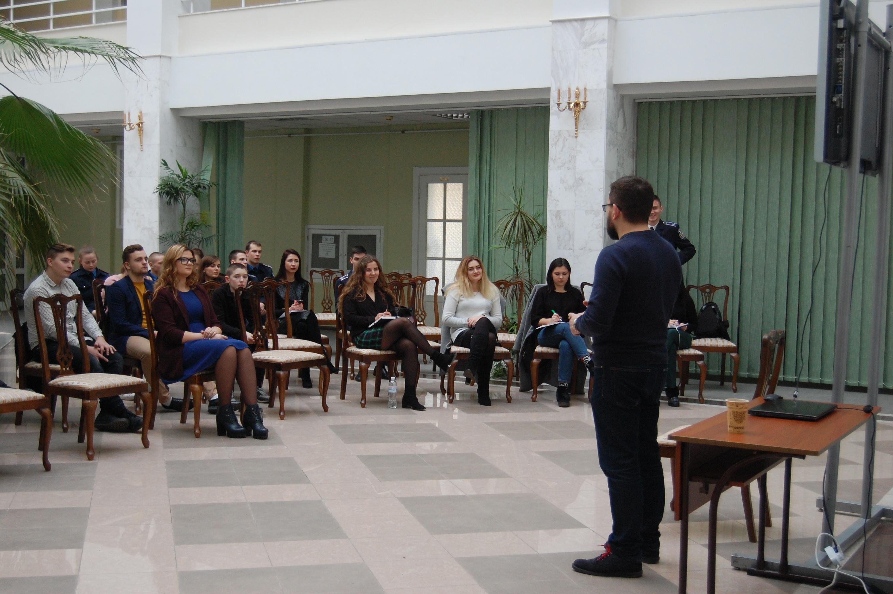 Майстер-клас фізіономіста Олександра Іванова: студенти навчилися бачити людину наскрізь