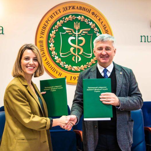 Ректор Павло Пашко та керівник проекту «Гендерно-орієнтоване бюджетування» Мая Босніч підписали меморандум про співпрацю