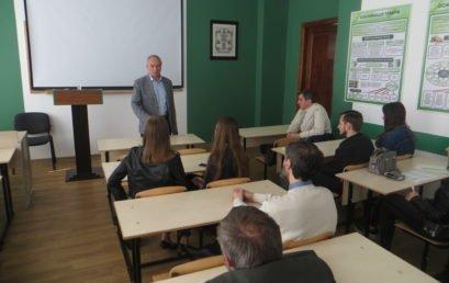Зустріч з громадьським діячем Ігорем Козловським