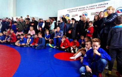 В Університеті пройшов Всеукраїнський турнір з бойового самбо серед дітей та молодших юнаків