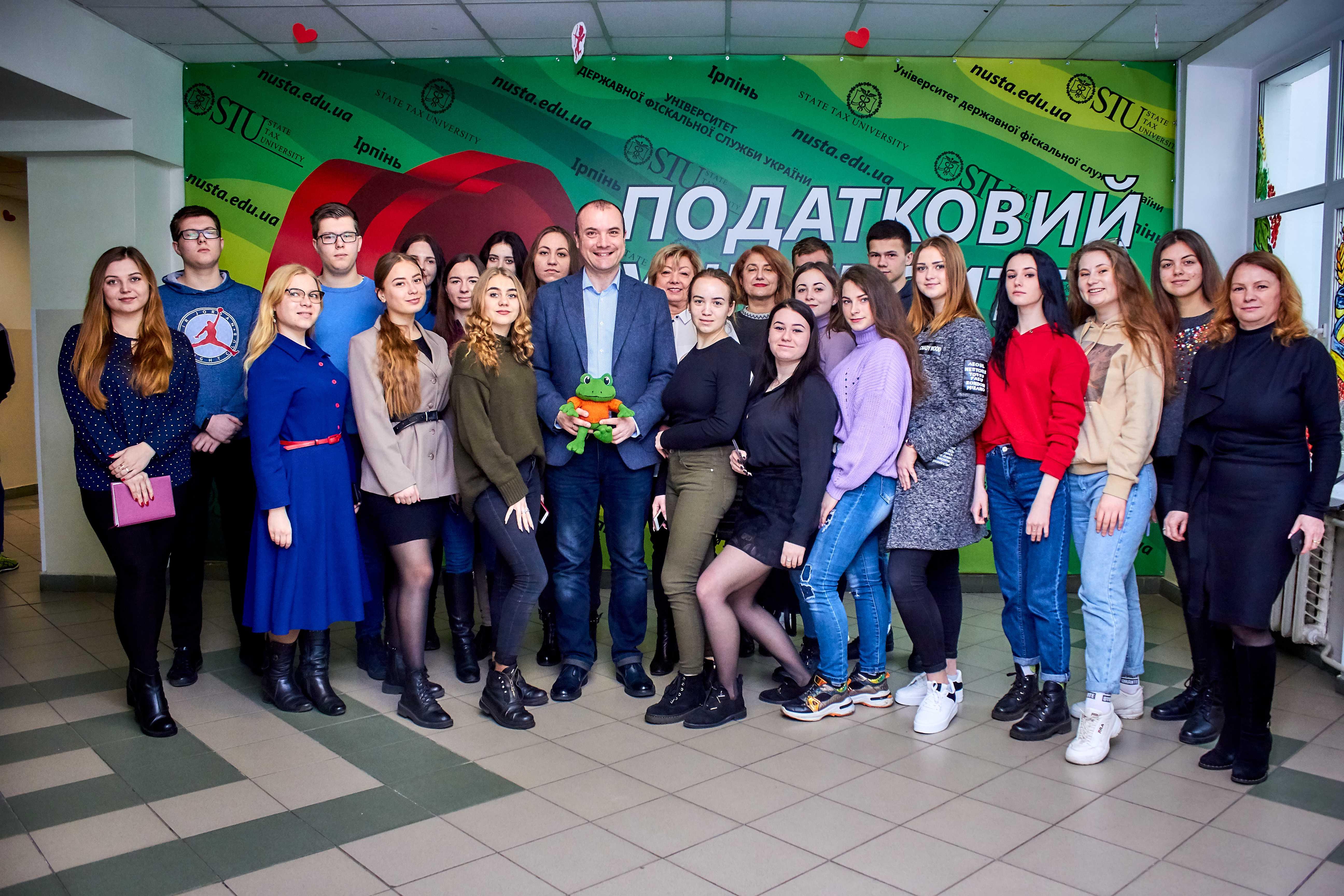 В УДФСУ відбувся майстер-клас Віталія Голубєва