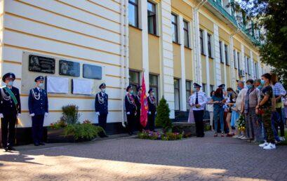 В УДФСУ відкрили меморіальні дошки студенту Дмитру Гончаренку та випускнику Денису Волочаєву, які героїчно загинули на сході України