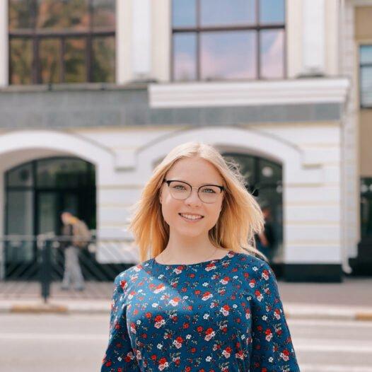 Студентка спеціальності «Журналістика» Ольга Кацан – переможець стипендіальної програми «Завтра.UA» Фонду Віктора Пінчука